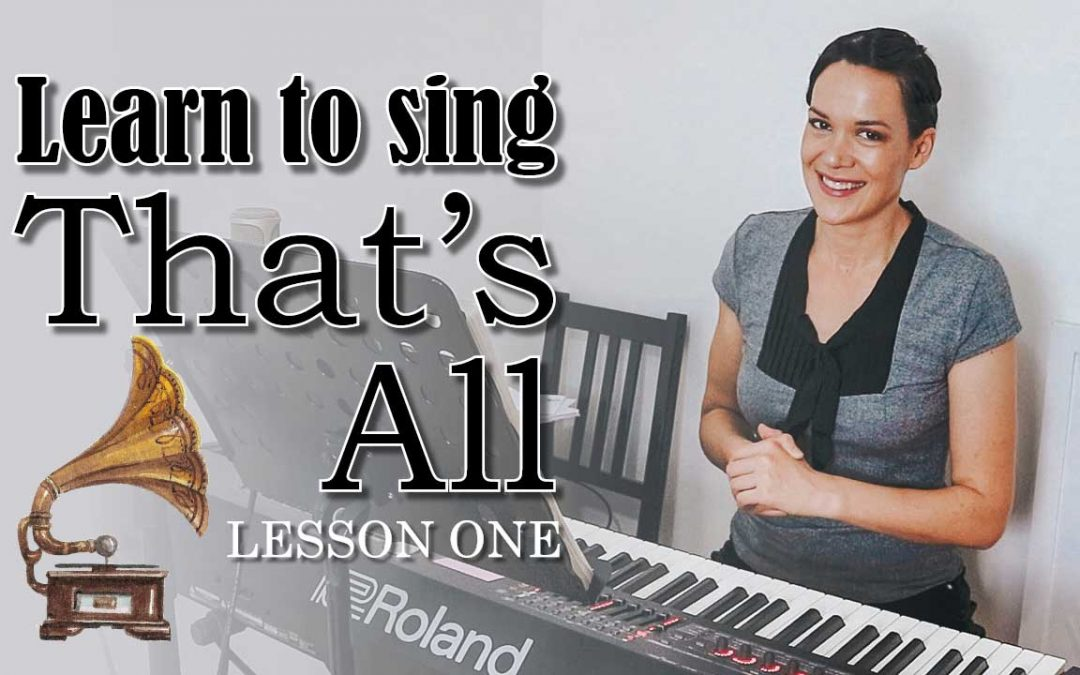Learn to Sing That's All